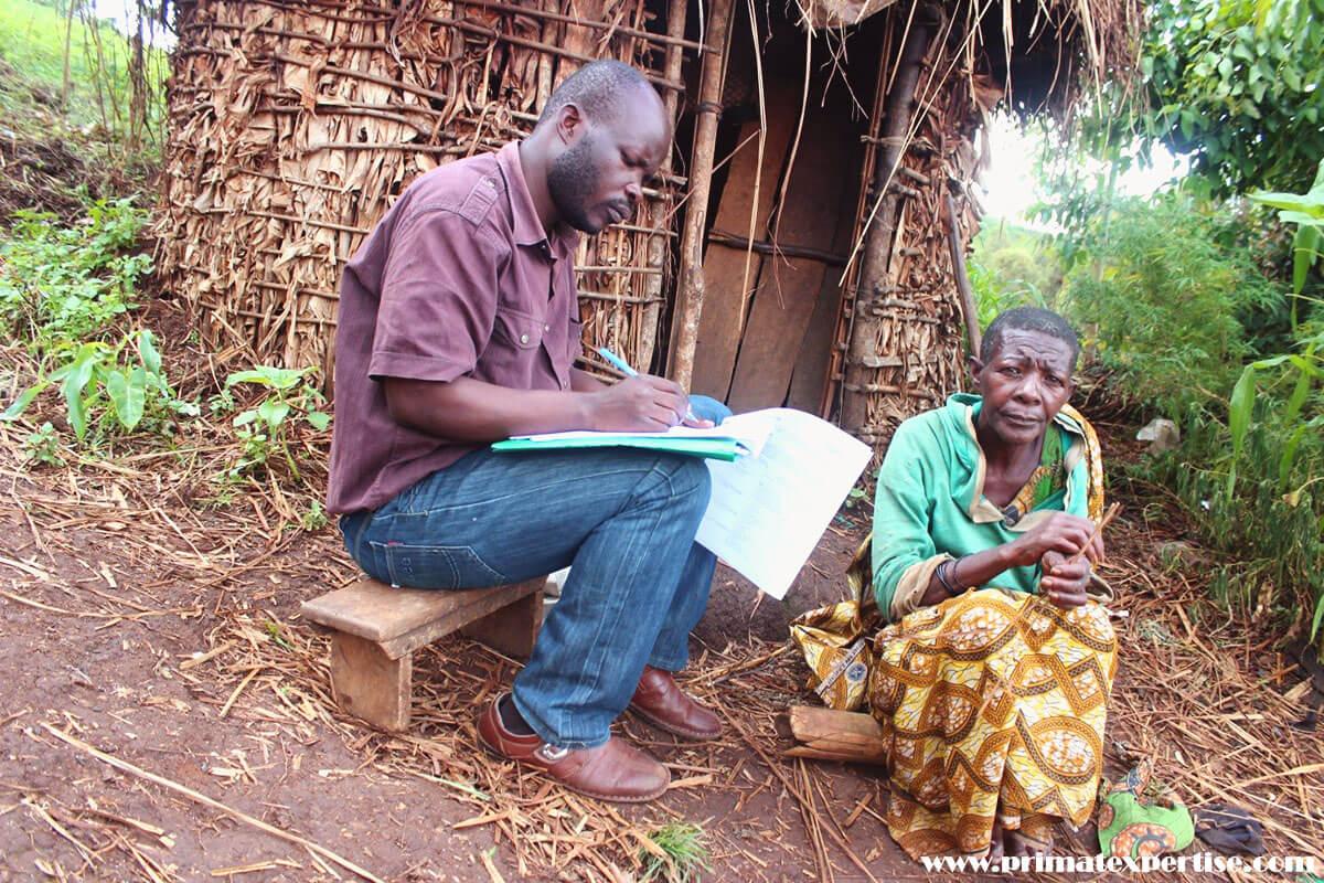 Enquête socio-économique sur les conditions de vie de peuple autochtone pygmées vivant autour du Park National de Kahuzi-Biega en territoire de Kabare, Sud Kivu, RDC
