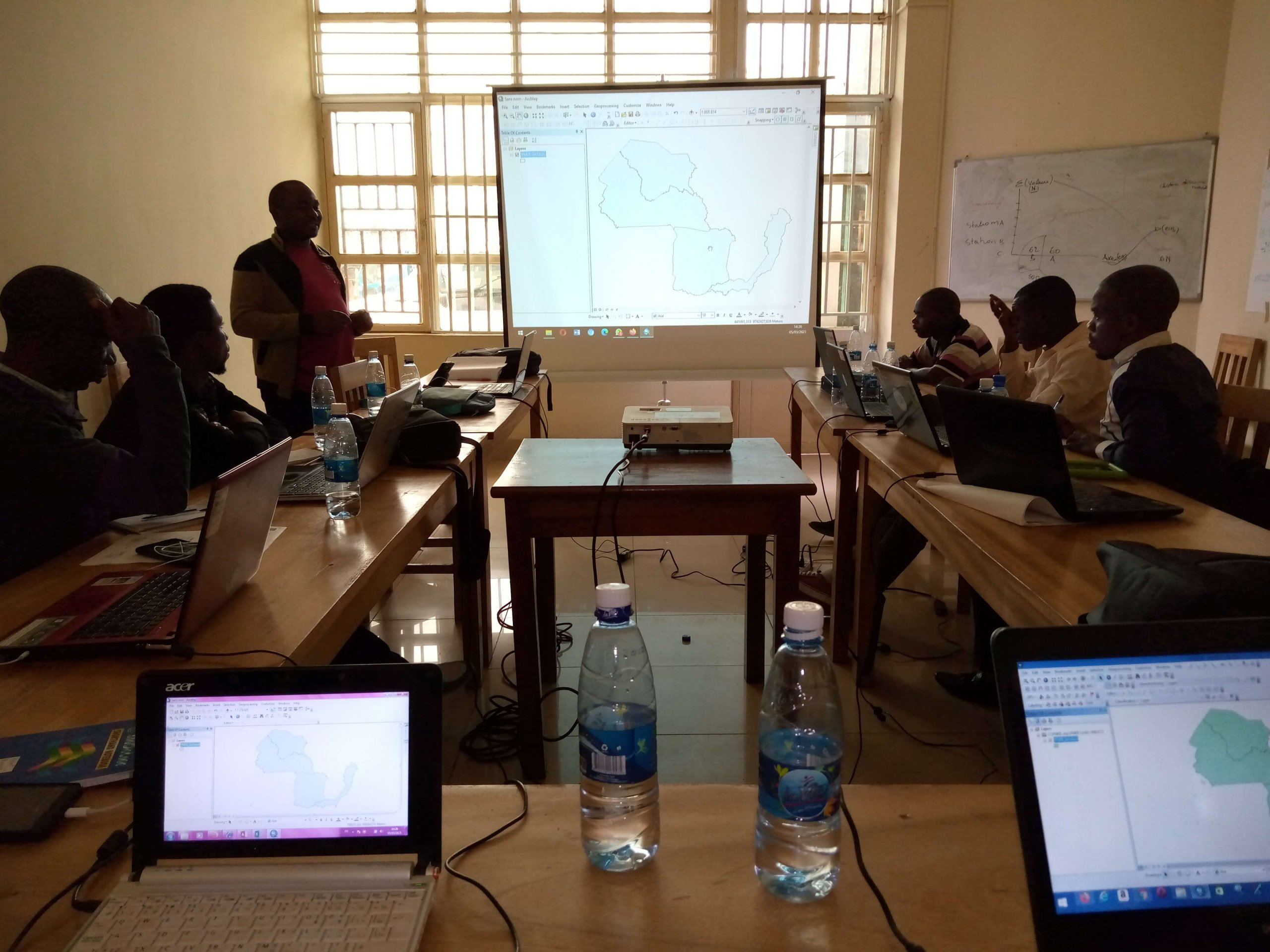 Five days of training to strengthen the capacity of researchers in the use of camera base